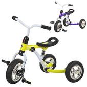 Трехколесный велосипед Bambi M 3207A-2, зеленый и фиолетовый
