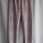 Теплые, мягкие пижамные штанишки Matalan из велсофта (махра-травка) на рост 12-13 лет