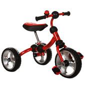 Велосипед трехколесный M 3192-2 EVA колеса,красный
