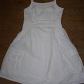 Tom Tailor белый сарафан на девочку рост 145-150