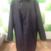Пальто-плащ большого размера