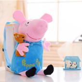 Рюкзак -игрушка Пеппа