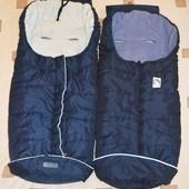 Спальный мешок, конверт, чехол на ножки в коляску Bisal, Eisbarchen