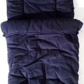 Конверт мешок чехол зимний для коляски санок Chicco