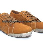 Мужские туфли на шнуровке нат.нубук Golder, р. 42