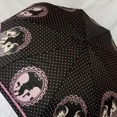 Новинка! Молодёжный женский зонт Автомат Антиветер в подарочной упаковке. Мастхев сезона)