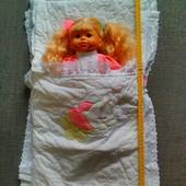Конверт на выписку+ одеялко с подушкой