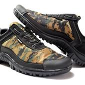 Кроссовки в стиле милитари - камуфляж (Х-16)