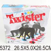 """Напольная игра """"Twister"""" в коробке 26,5*5,0*26,5см"""