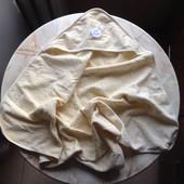 Махровое полотенце с капюшоном фирмы Kenguru Gold размер 80*80 см