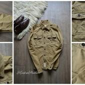 Крутая рваная мужская рубашка-джинсовка Abercrombie,р-р М-Л