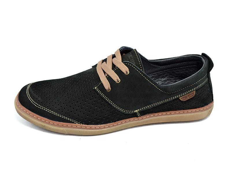 Мужские мокасины с перфорацией multi shoes xc фото №1