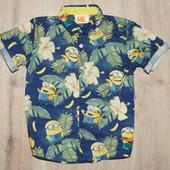 Рубашка на 4-5 лет фирма некст