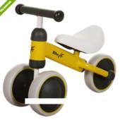 Детский беговел Bike MT-02 колеса eva+кож сиденье, желтый