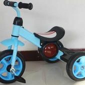 Трехколесный детский велосипед 1713 синий