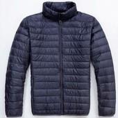 Ультратонкая пуховая демисезонная мужская куртка Tu Clothing, р.М