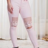 Размеры 42-50 Оригинальные женские брюки весна-лето 2017