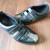 Кожаные туфли Clarks UK 5.5р.