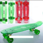 Скейт MS 0855-1 Пенни борд ( Penny Board),колеса светятся