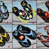 Мужские тапки Adidas. Адидас, вьетнамки, шлепки, летние, пляжные.