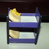 двухъярусная кроватка  abd/ceg свинка Пеппа