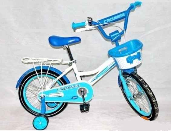 Велосипед детский двухколёсный azimut haррy crosser 12-20 д фото №1