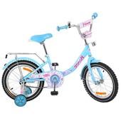 Велосипед двухколёсный детский 14 дюймов Profi Princess G1412