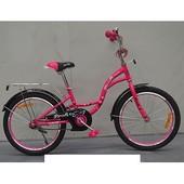 Велосипед двухколёсный детский 14 дюймов Profi Butterfly G1423