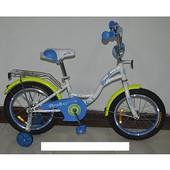 Велосипед двухколёсный детский 14 дюймов Profi Butterfly G1424