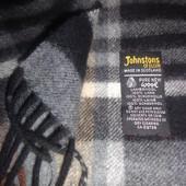 Johnstons of Elgin шарф 100% шерсть