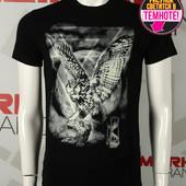 Мужская футболка TM Valimark (Валимарк) 17282 s m l xl черная