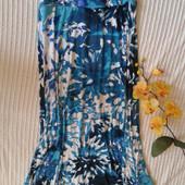 Отличная длинная макси юбка из тонкого мягкого трикотажа от Yessica,p. XS  но можно и больше!