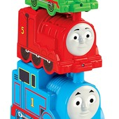 Fisher-Price Томас и его друзья пирамидка блоки паровозикMy first thomas the train stacking steamies