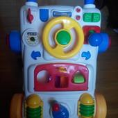 Ходунки, толкатель, музыкальная панель Юный водитель Joy toy