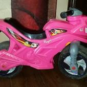 детский мотоцикл беговел Orion Toys