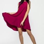 Размеры 42-48 Яркое женское платье весна-лето 2017
