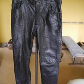 Брюки-штани шкіряні розмір 35  пише