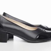 Туфли из натур. кожи, р. 36-41, код vkso-2275