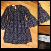 Фирменное шифоновое платье Promod, размер 38