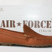 Мокасины Air Force Italia оригинал. Натуральная кожа. 40-45