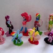 Киндеры коллекция девочки пони из Эквестрии