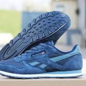 Кроссовки  Reebok  сині