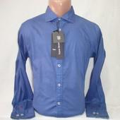 Мужская рубашка с длинным рукавом Tony Backer.Разные цвета.