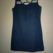 Платье под джинс Elle 4-6 лет отл сост. Замеры внутри!!!