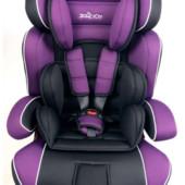 Автокресло детское Joy 888 группа 1-2-3 (9-36кг), фиолетовое