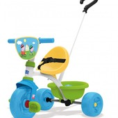 Велосипед трехколесный металлический Be Move Свинка Пеппа Smoby 740313