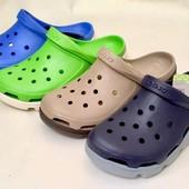 Мужские Кроксы Crocs Duet Sport Clog