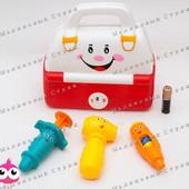 Набор доктора для самых маленьких, аптечка со звуком, шприц, градусник, молоточек