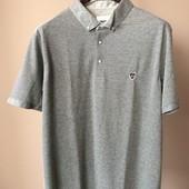 Мужская футболка серая XL