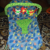 Шезлонг, кресло-качалка с вибрацией и музыкой